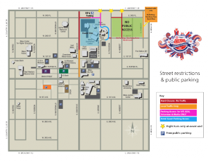 Street Restrictions & Public Parking Map link